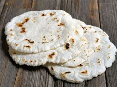 2-ingredient Rice Flour Roti by Ashley of MyHeartBeets.com