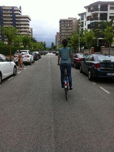 Princess cycling
