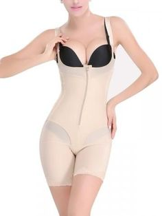 0db89fd3e2 The Xtreme Zip and Pull Down 16056 Body Girdle