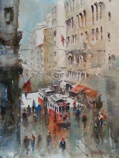 Burhan Ōzer turkish painter ~**
