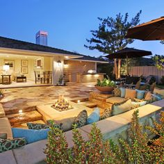 Sunken Fire Pit Design Ideas, Pictures, Remodel and Decor