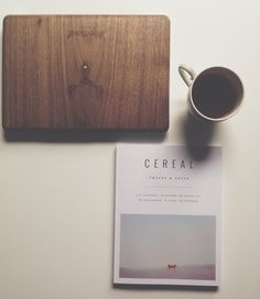 Revision can wait. @cerealmag has arrived.