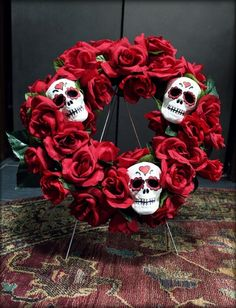 Day of the Dead Inspired Wreath