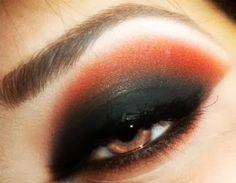 Evening Makeup for brown eyes - Lauren Bloom's Blog