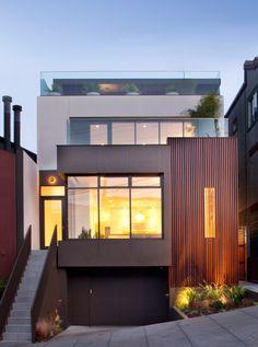 Noe Valley Project, San Francisco - modern - exterior - san francisco - Design Line Construction, Inc.