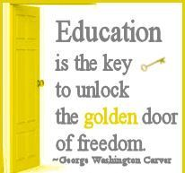 Education is the key of success !