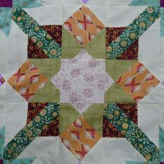 Little Bunny Quilts: Gathering Mystery {Finished Quilt Top}