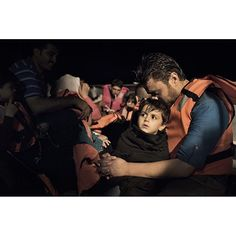 #TIMEDISPATCH A Syrian migrant comforts his child aboard a Greek coast guard vessel that has just rescued them from an overcrowded motorboat in the waters near the Greek-Turkish border. Sept. 6 2015.  Photographer Yuri Kozyrev of @noorimages is on a three-week assignment for TIME documenting the refugee and migrant crisis across Europe. Read TIMEs Simon Shusters report on time.com/refugees and see more images on lightbox.time.com by time