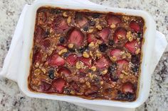 low fodmap quinoa berry breakfast bake