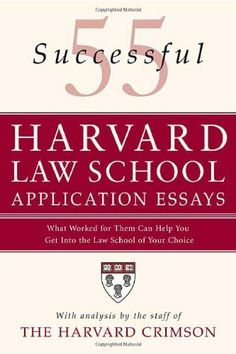 Books on Law School Personal Statements