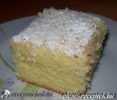 Érdekel a receptje? Gourmet Recipes, Sweet Recipes, Cookie Recipes, Pasta Cake, Hungarian Recipes, Baking And Pastry, Sweet Bread, No Bake Desserts, Food To Make