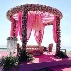 Wedding Indian & Decorating By Sammy k.sammy 0806682014 Source by The Effective Pictures We Offer You About wedding ceremony decorations roses A quality picture c Desi Wedding Decor, Wedding Hall Decorations, Luxury Wedding Decor, Wedding Mandap, Boho Wedding, Wedding Reception, Mandap Design, Mehndi Decor, Unique Weddings