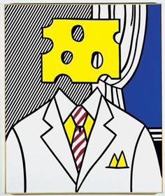 roy lichtenstein surrealism | Title:PortraitArtist:Roy LichtensteinCountry of Origin:United States ...