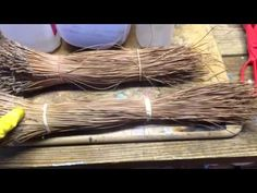 Pine needle coiling - glycerin treatment - Part 2 - YouTube