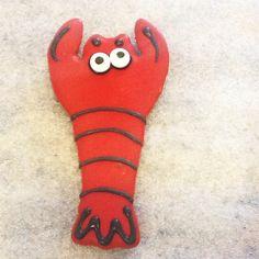 Lobstah Dog Cookie