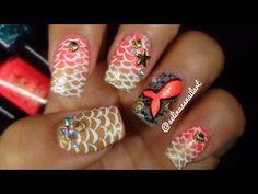 Mermaid Nail Art ft Madam Glam