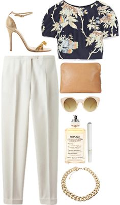 """golden girl"" by rosiee22 ❤ liked on Polyvore"
