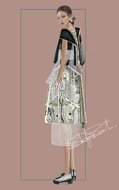 """the_power_of_men"" Sketch Stefania Belmonte my collection Fashion Illustration Moda Fashion, I Love Fashion, Fashion Art, Fashion Beauty, Fashion Illustration Dresses, Fashion Illustrations, Illustration Mode, Fashion Figures, Fashion Sketchbook"