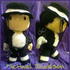 Amigurumi Yarn Michaels : michael jackson amigurumi Crochet: Amigurumi Pinterest ...