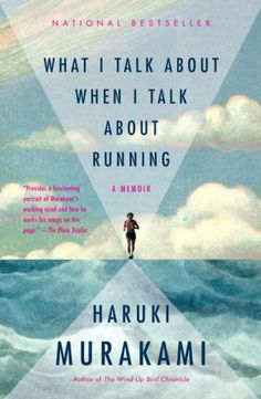 #awallofbooks What I talk about when I talk about running