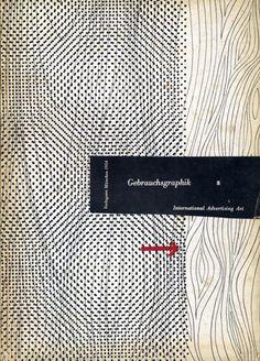 Cover from Gebrauchsgraphik magazine.
