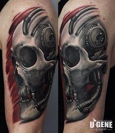 Redberry Tattoo Studio #tattoo #inked #ink #studio #wroclaw #warszawa #tatuaz #gdansk #redberry #katowice #berlin #poland #krakow #kraków #ugene #evgeniy #goryachiy #skull #czaszka