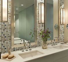 Idea for the guest bathroom