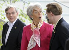 Christine Lagarde Photo - G8 Financial Ministers Meeting Concludes
