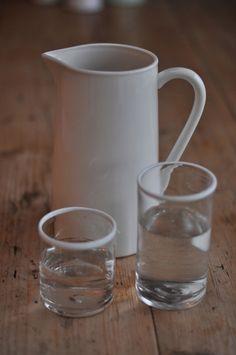 Large Scandinavian Water Jug / Vase