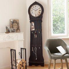 Standuhr - Die schicke Standuhr ist ein absoluter Blickfang und sollte auch in Deinem Zuhause nicht fehlen. Lieferung ohne Dekoration. - ab 178,00€