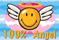Smiley World Smiley Angel Area Rug