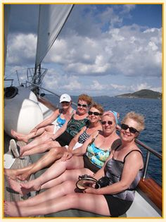Get your closest friends together and plan a trip to the Caribbean.  Sunshine, palm trees, a breeze blowing - it's all good!  ASPEN CREEK TRAVEL - karen@aspencreektravel.com