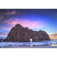 #PfeifferBeach in California is certainly a sight to be scene! With sunsets like these, I wouldn't want to watch them any other way!
