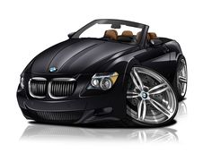 Car Cariatures From Photos - A Cartoon of Your Car by Give A Masterpiece