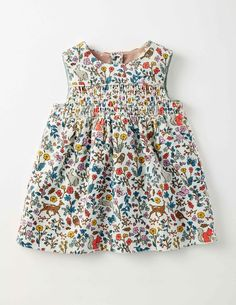 Mini Boden Nostalgic Cord Pinnie in woodland toile, size Baby Boden, Mini Boden, Boden Kids, Toddler Dress, Baby Dress, Baby Girl Fashion, Kids Fashion, Cute Outfits For Kids, Trendy Baby