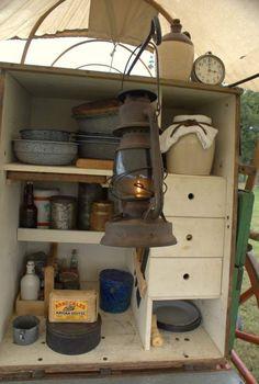 Cowboy Chuck Box | Chuck Wagon History and Cooking