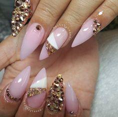 I love this nail design