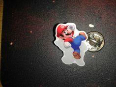 Gamescom 2011 Nintendo 3DS promo Pins Super Mario 3D Land Mario pin SELTEN & RAR
