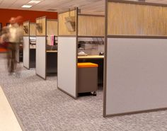 Custom Office Cubicles Designed to Fit Your Office Setting Needs – Home Office Design Layout Office Furniture Design, Office Interior Design, Furniture Layout, Office Interiors, Interior Ideas, Furniture Decor, Office Cubicle Design, Office Designs, Cubicle Walls