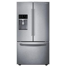 Samsung - RF28HFEDBSR - RF28HFEDBSR 28 cu.ft. French Door Refrigerator - Stainless Steel | Sears Outlet