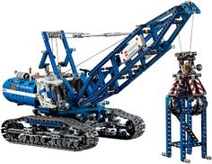 The Test Pit: REVIEW: LEGO Technic Crawler Crane #42042