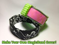 Make a CoverBand for Your MagicBand: Step-by-Step Tutorial for No-Sew and Stitched Versions