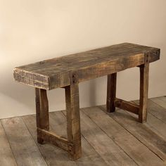 Vintage French Industrial Workbench - Vintage | Soho Home