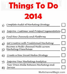 8 Must Have Company Objectives for 2014 | Social Media Today