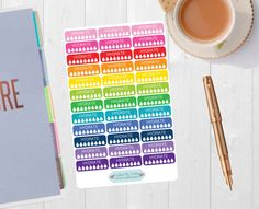 Pinning so I don't forget!! Remember to go back and check out Crafted By Corley on Etsy. Hydrate Colorful Stickers - Planner Stickers Hydrate Tracker Hydrate Planner Water Intake Water Tracker Life Planner Water Stickers by CraftedByCorley