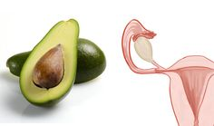 The lightbulb shape of an avocado looks like a uterus and it supports reproductive health as well.