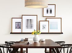 Our exclusive Profile frames are made in Ohio by a family-run company that's been in business for 40 years. These solid walnut frames feature beautifully mitered corners and a white mat for a classic, gallery-worthy appearance. Plus, the glass in every frame is washed twice before packing, so you can simply insert your image and enjoy.