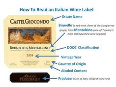 Wine Basics: How to Read a Wine Label