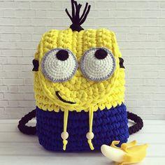 Crochet Backpack, Crochet Clutch, Crochet Handbags, Crochet Purses, Crochet Cap, Crochet Gifts, Free Crochet, Kawaii Crochet, Baby Kind