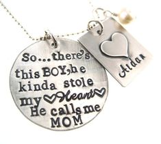 So..There's This Boy Who Stole My Heart He calls by byHannahDesign, $58.00